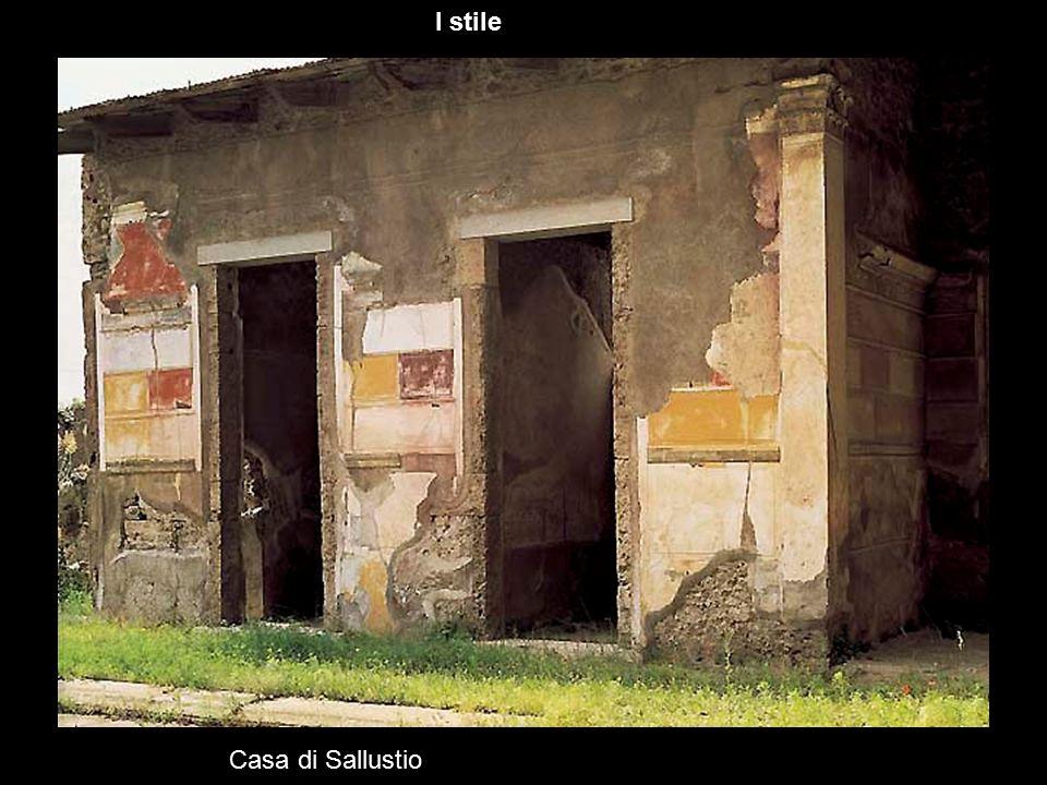 I stile Casa di Sallustio