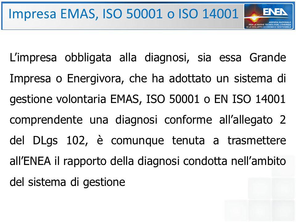 Impresa EMAS, ISO 50001 o ISO 14001