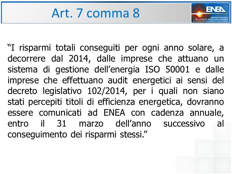 Art. 7 comma 8