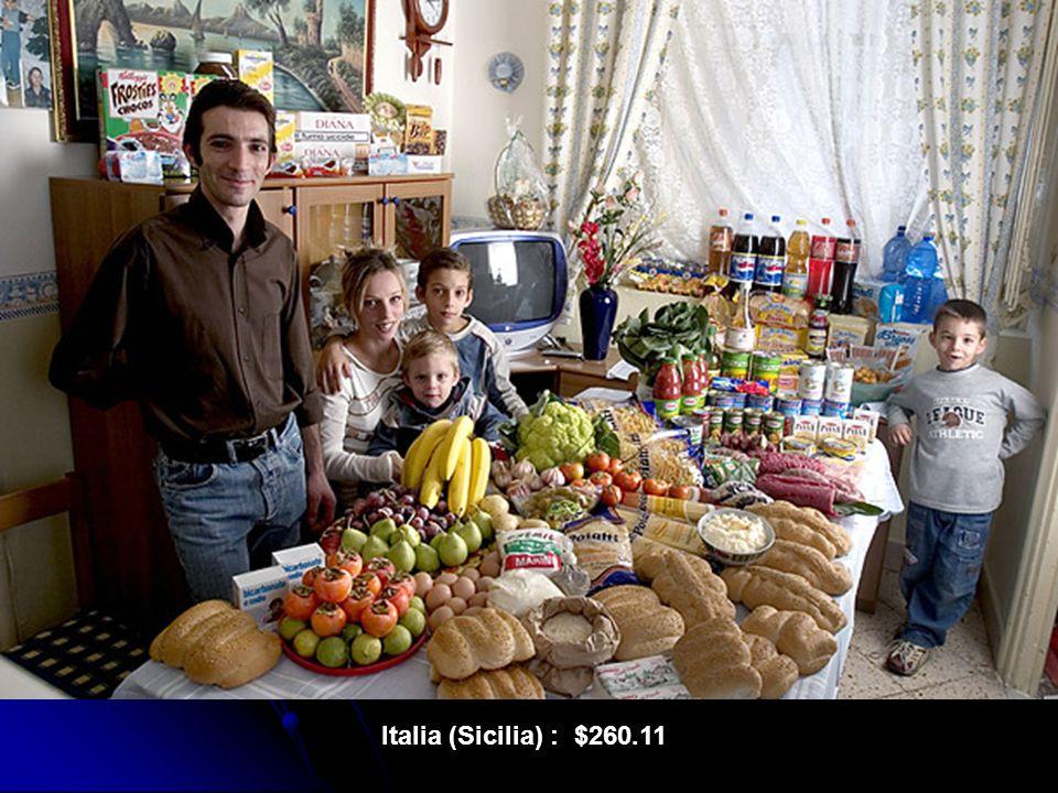 Italia (Sicilia) : $260.11