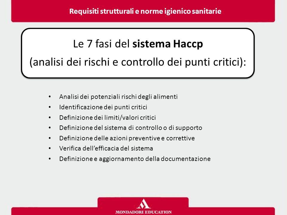 Requisiti strutturali e norme igienico sanitarie