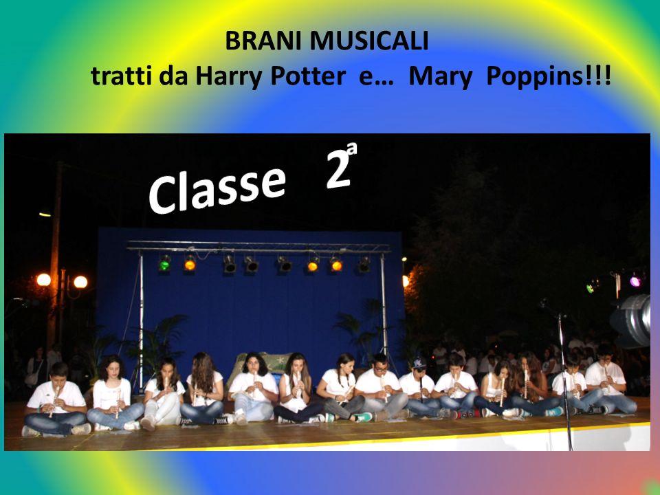 Classe 2 ͣ ͣ ͣ BRANI MUSICALI
