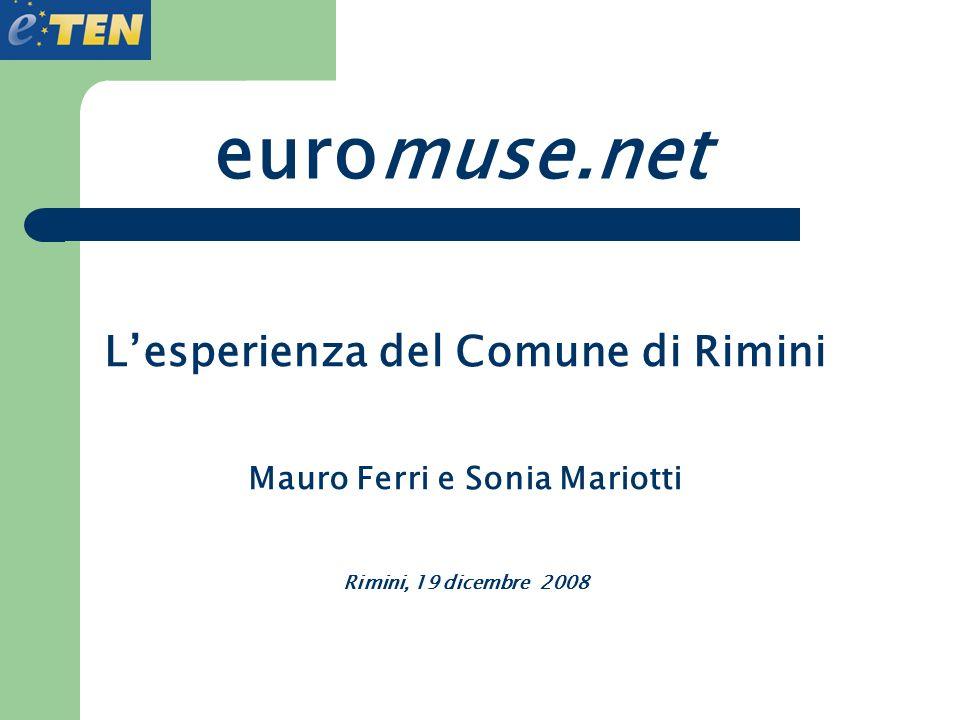 L'esperienza del Comune di Rimini Mauro Ferri e Sonia Mariotti