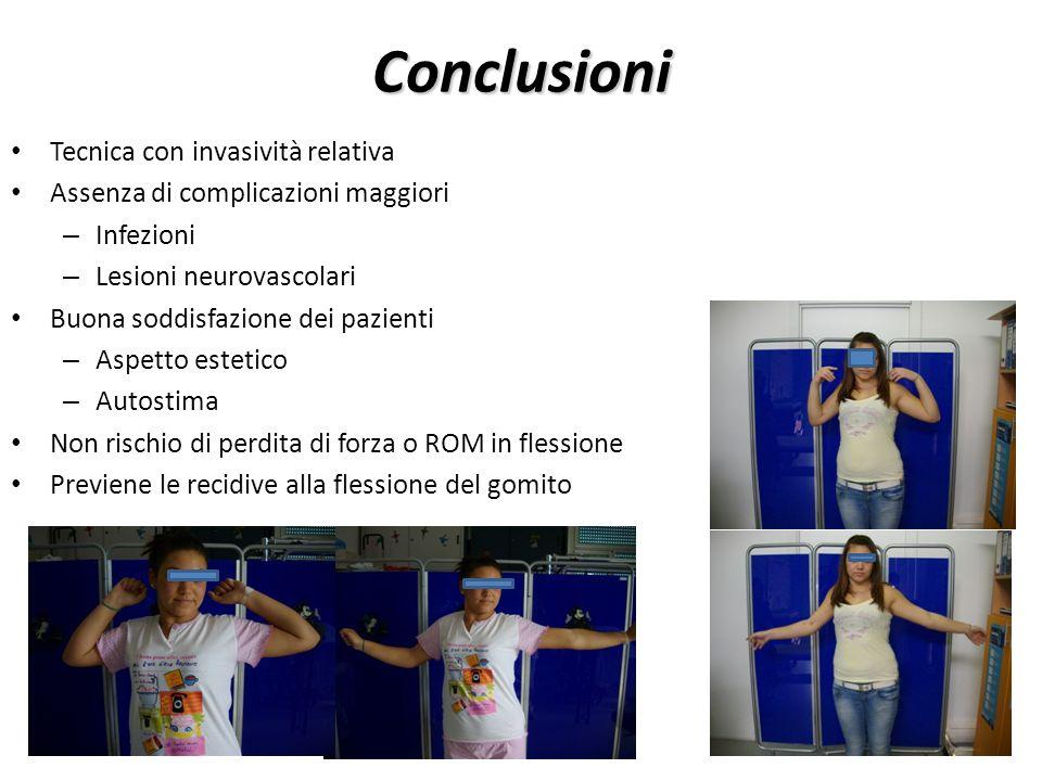 Conclusioni Tecnica con invasività relativa