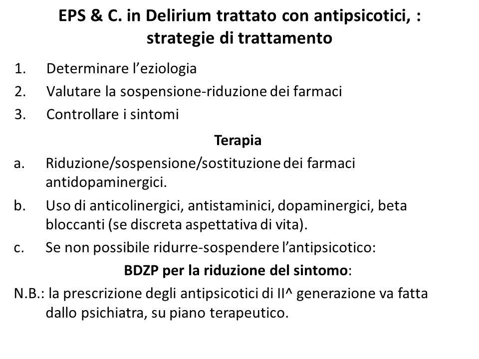 BDZP per la riduzione del sintomo:
