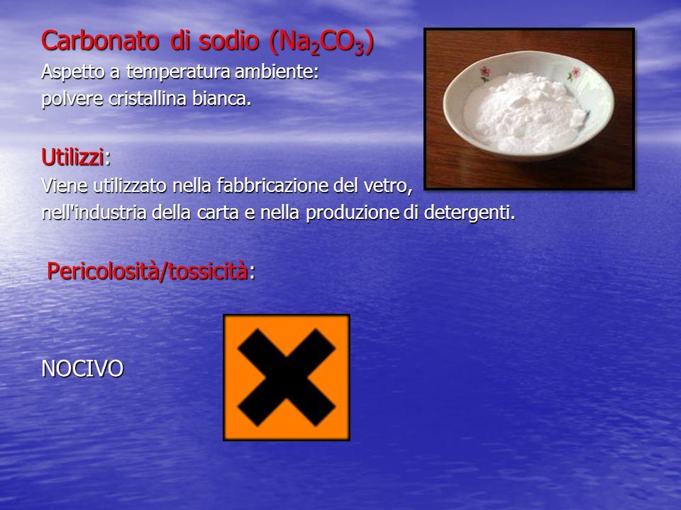 Carbonato di sodio (Na2CO3)