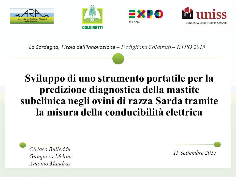 La Sardegna, l Isola dell innovazione – Padiglione Coldiretti – EXPO 2015