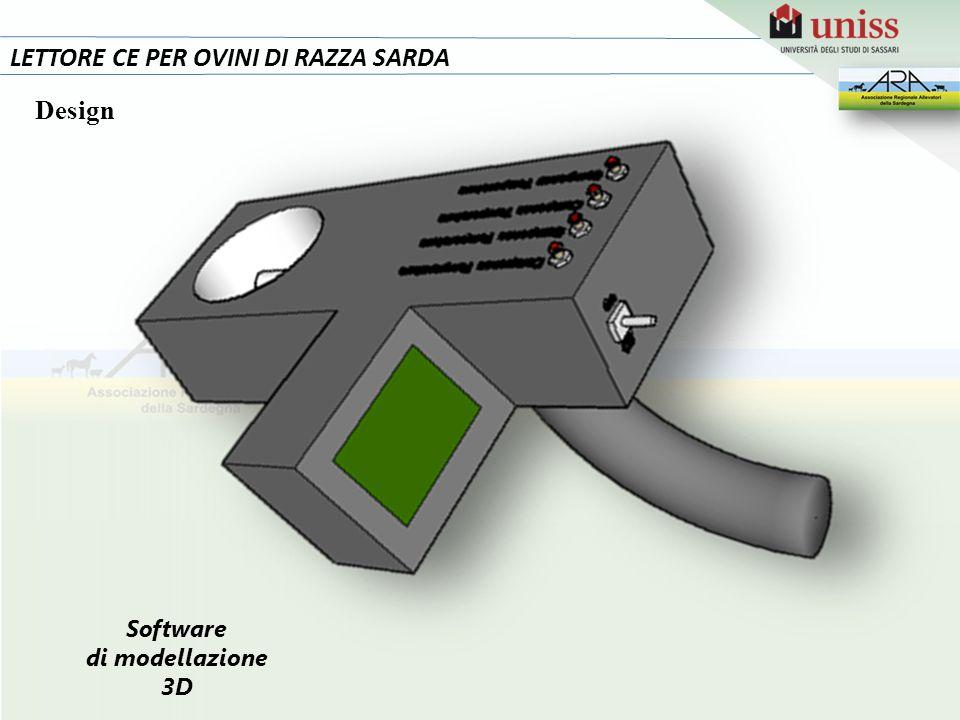 13 LETTORE CE PER OVINI DI RAZZA SARDA Design Software di modellazione