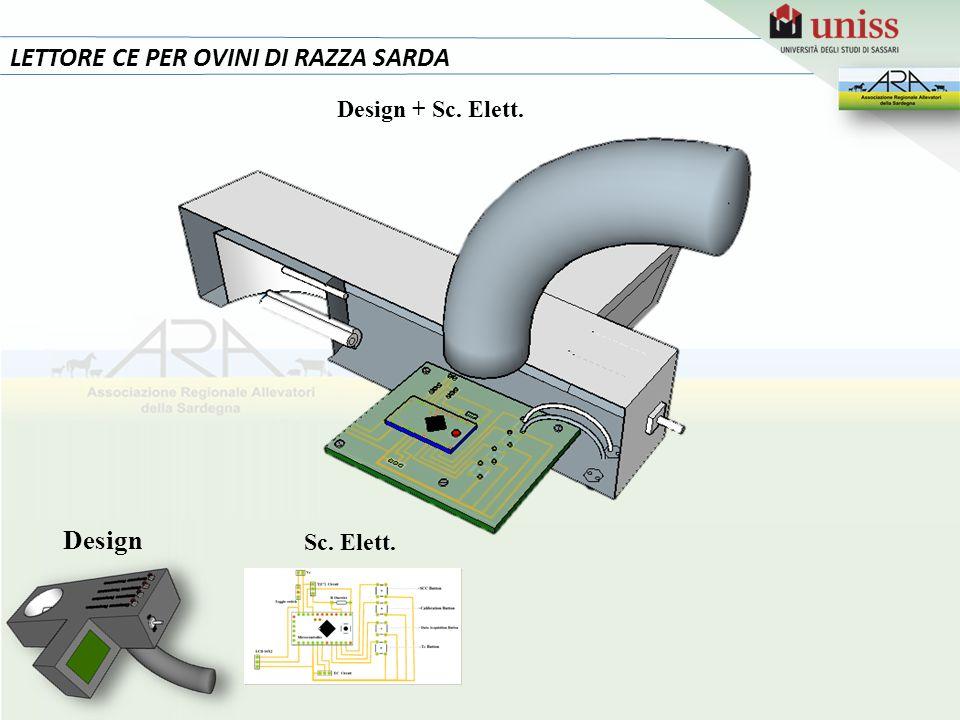 15 LETTORE CE PER OVINI DI RAZZA SARDA Design Design + Sc. Elett.