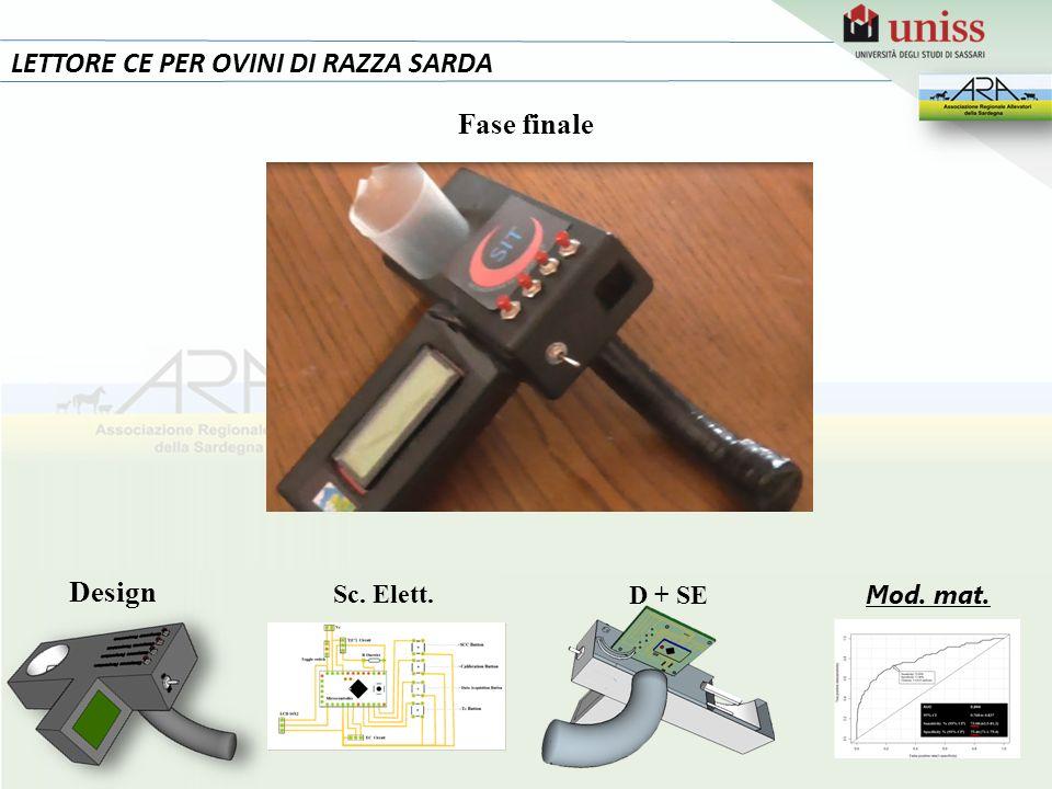 17 LETTORE CE PER OVINI DI RAZZA SARDA Fase finale Design Sc. Elett.