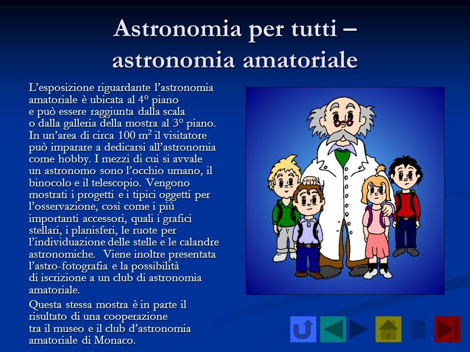 Astronomia per tutti – astronomia amatoriale