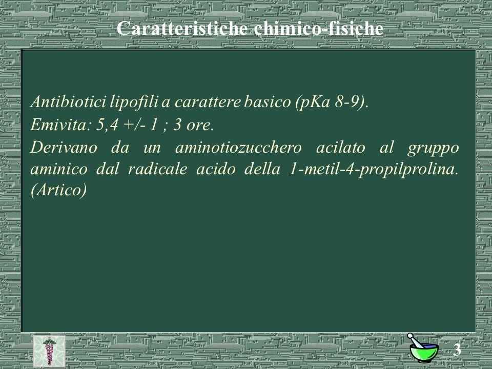 Caratteristiche chimico-fisiche