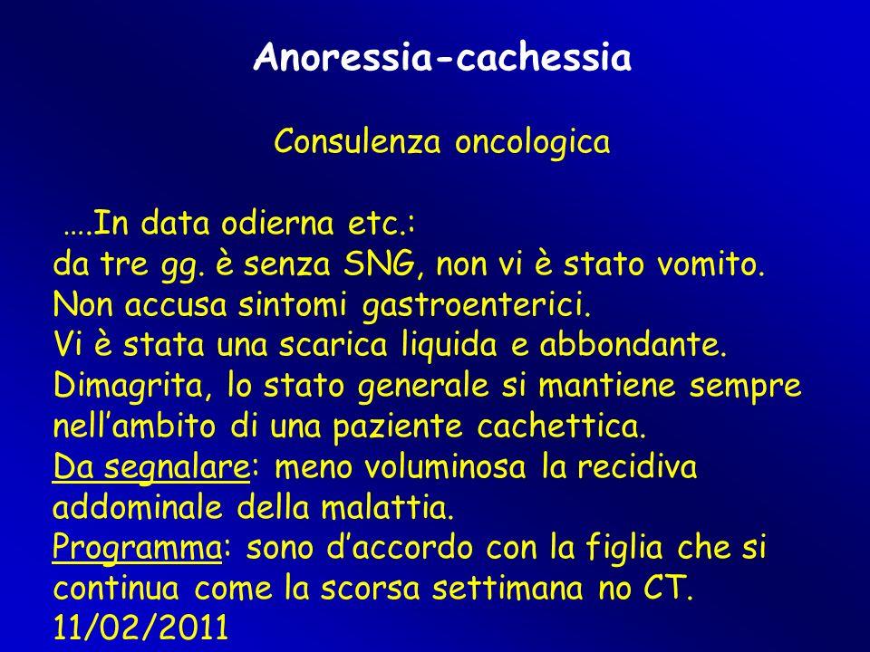 Consulenza oncologica