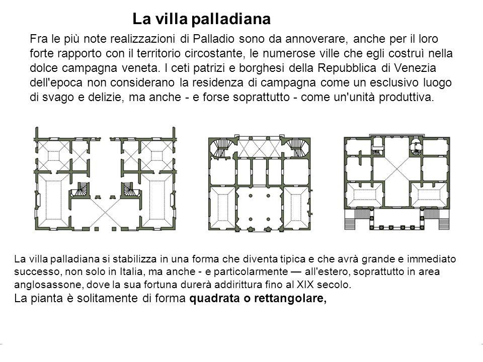 La villa palladiana