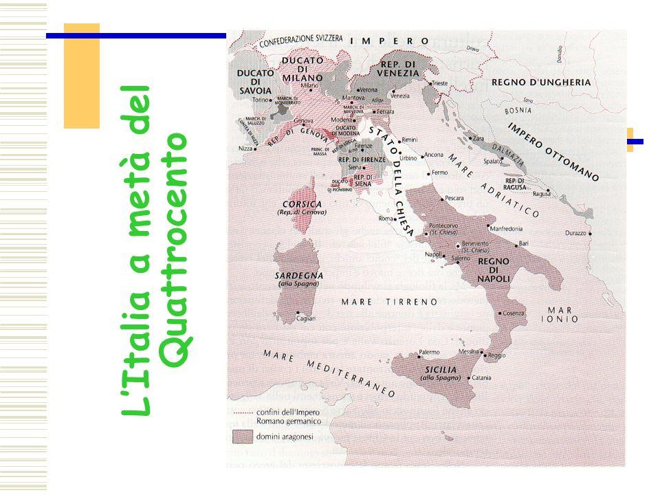 L'Italia a metà del Quattrocento