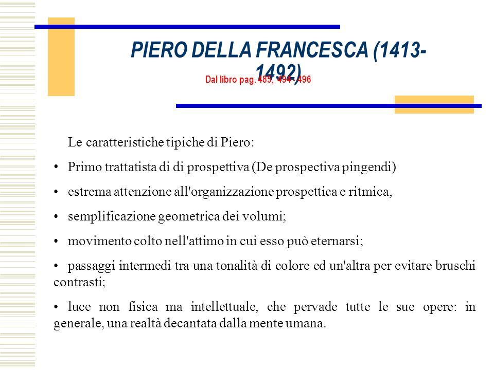 PIERO DELLA FRANCESCA (1413-1492)
