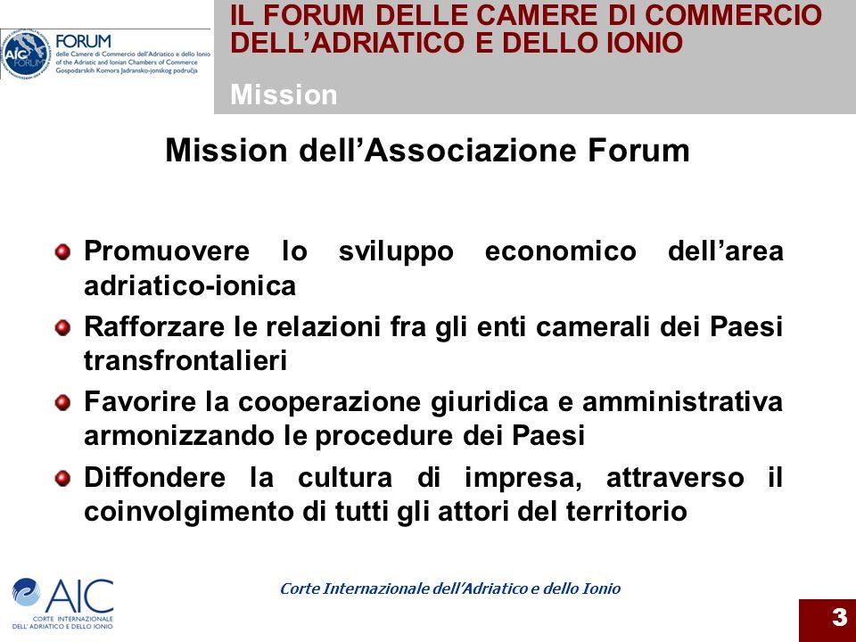 Mission dell'Associazione Forum