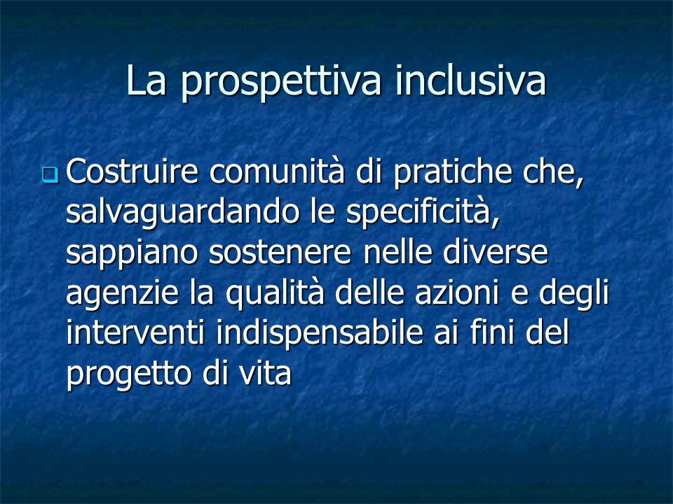 La prospettiva inclusiva