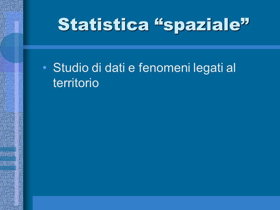 Statistica spaziale
