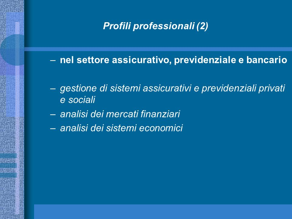 Profili professionali (2)