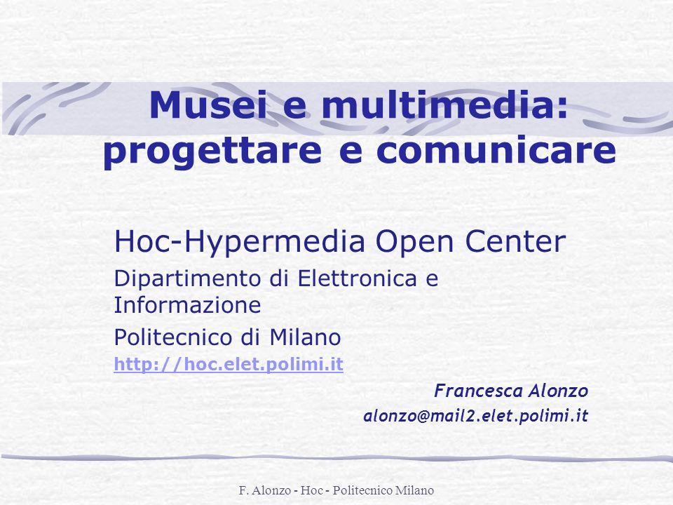 Musei e multimedia: progettare e comunicare