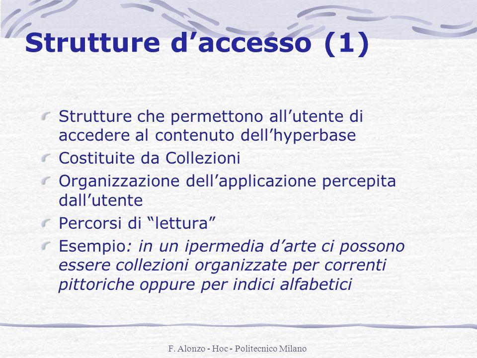 Strutture d'accesso (1)