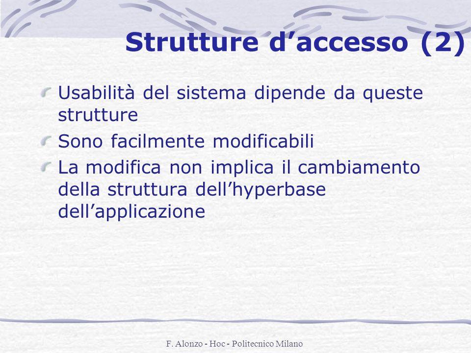 Strutture d'accesso (2)