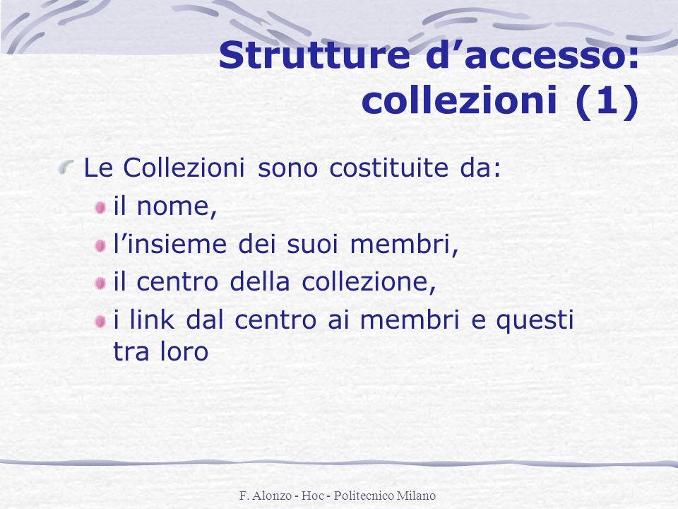 Strutture d'accesso: collezioni (1)