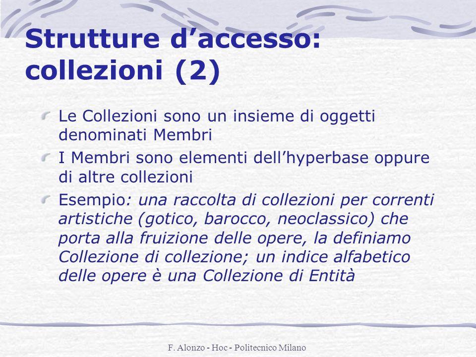 Strutture d'accesso: collezioni (2)