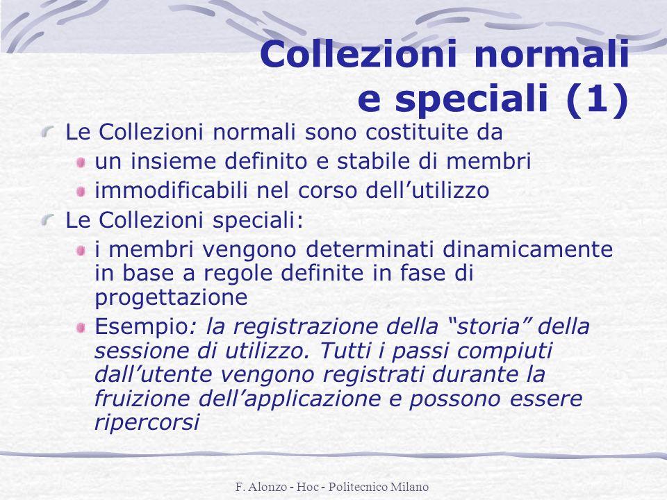 Collezioni normali e speciali (1)