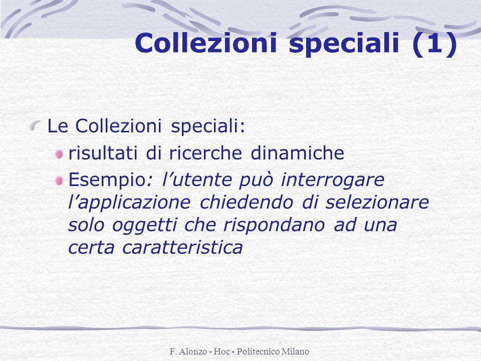 Collezioni speciali (1)