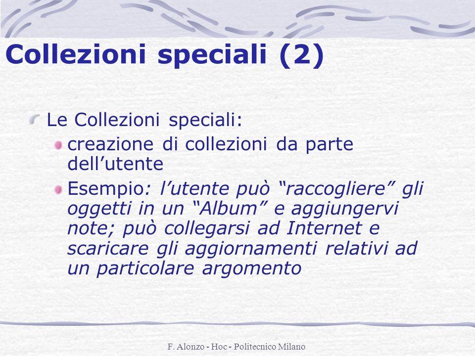 Collezioni speciali (2)