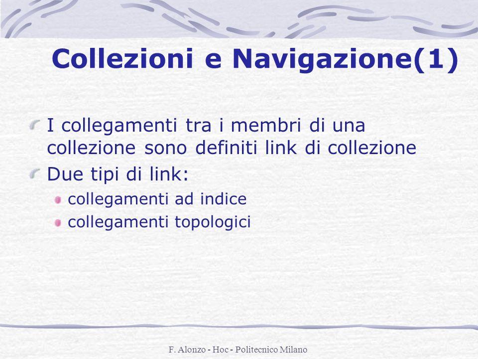 Collezioni e Navigazione(1)