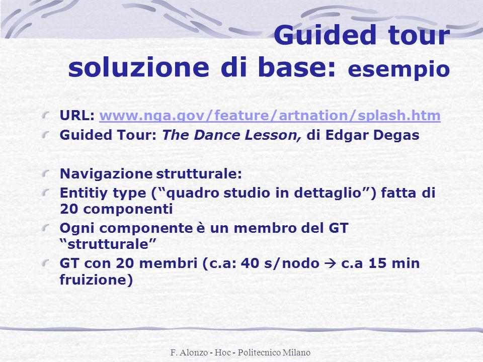 Guided tour soluzione di base: esempio