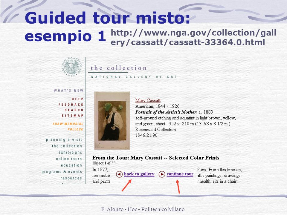 Guided tour misto: esempio 1