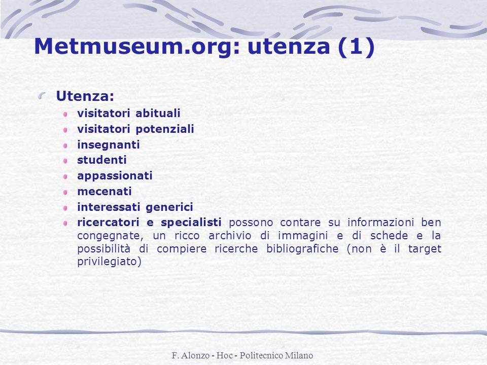 Metmuseum.org: utenza (1)
