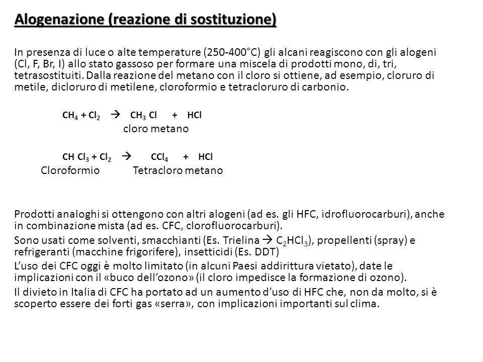 Alogenazione (reazione di sostituzione)