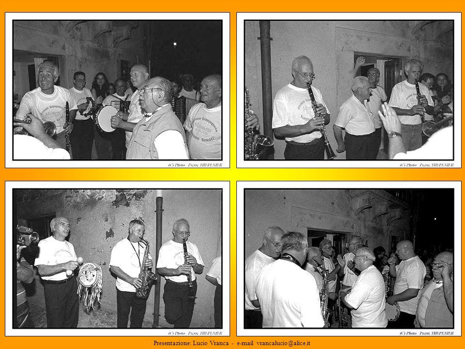 Presentazione: Lucio Vranca - e-mail vrancalucio@alice.it
