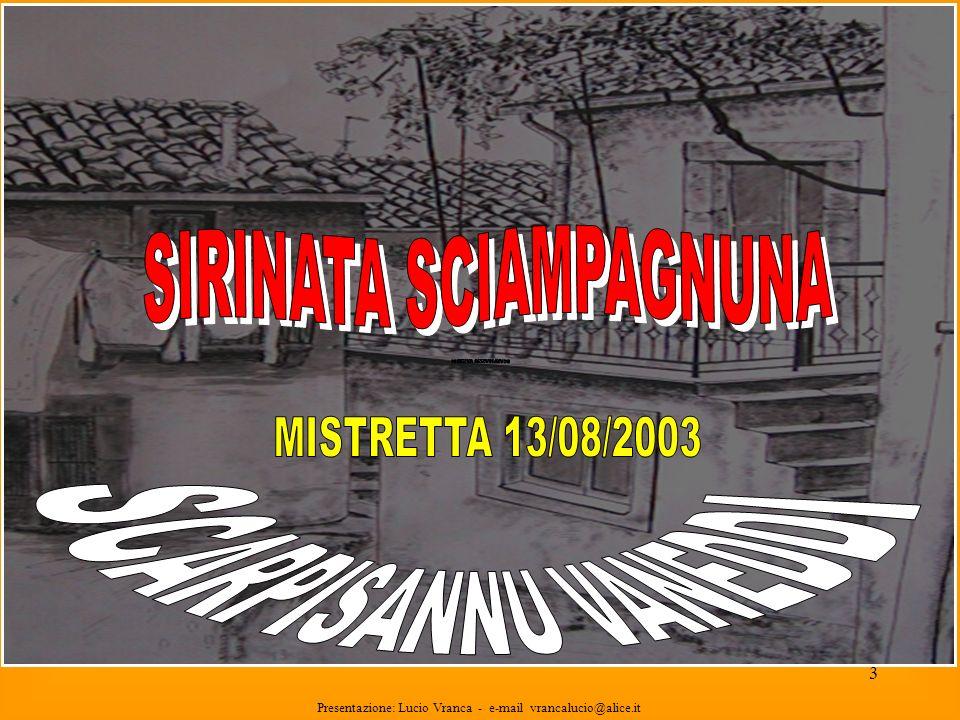 SIRINATA SCIAMPAGNUNA