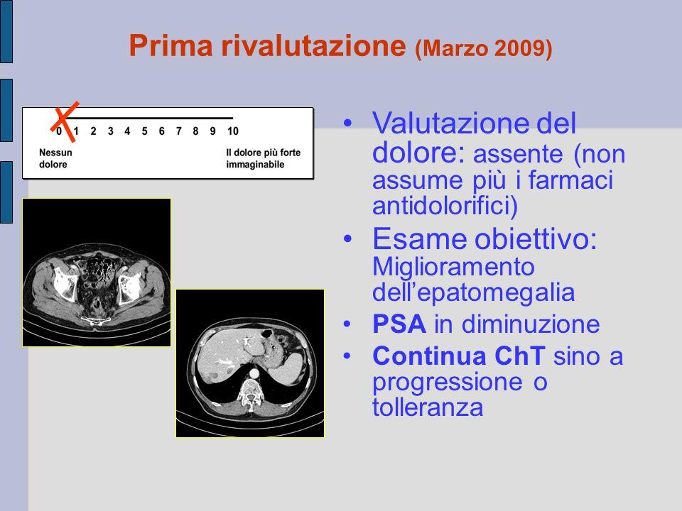 Prima rivalutazione (Marzo 2009)