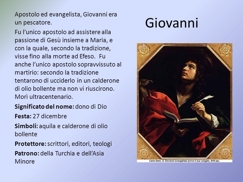 Apostolo ed evangelista, Giovanni era un pescatore