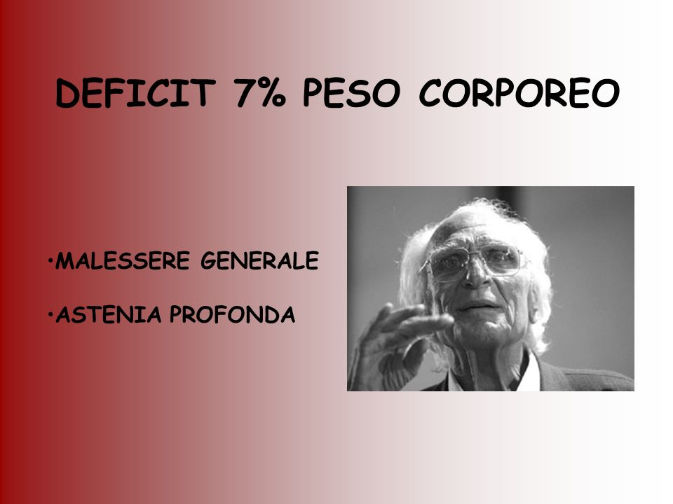 DEFICIT 7% PESO CORPOREO