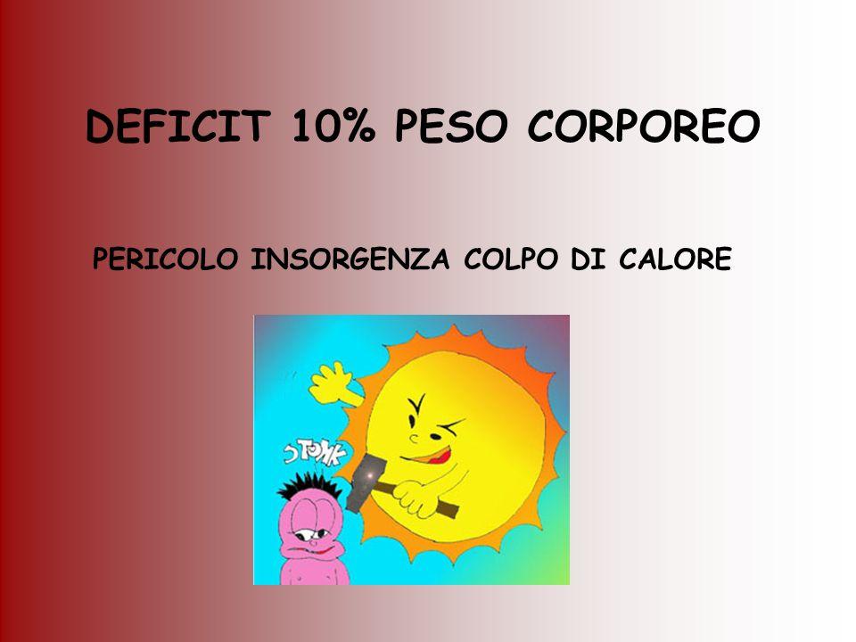 DEFICIT 10% PESO CORPOREO