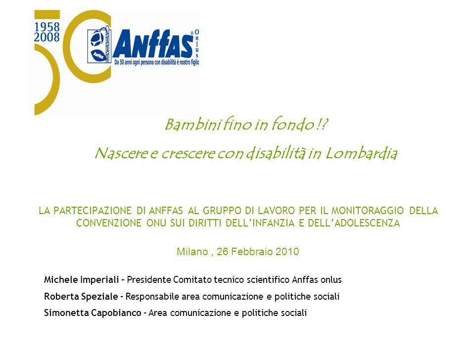 Nascere e crescere con disabilità in Lombardia