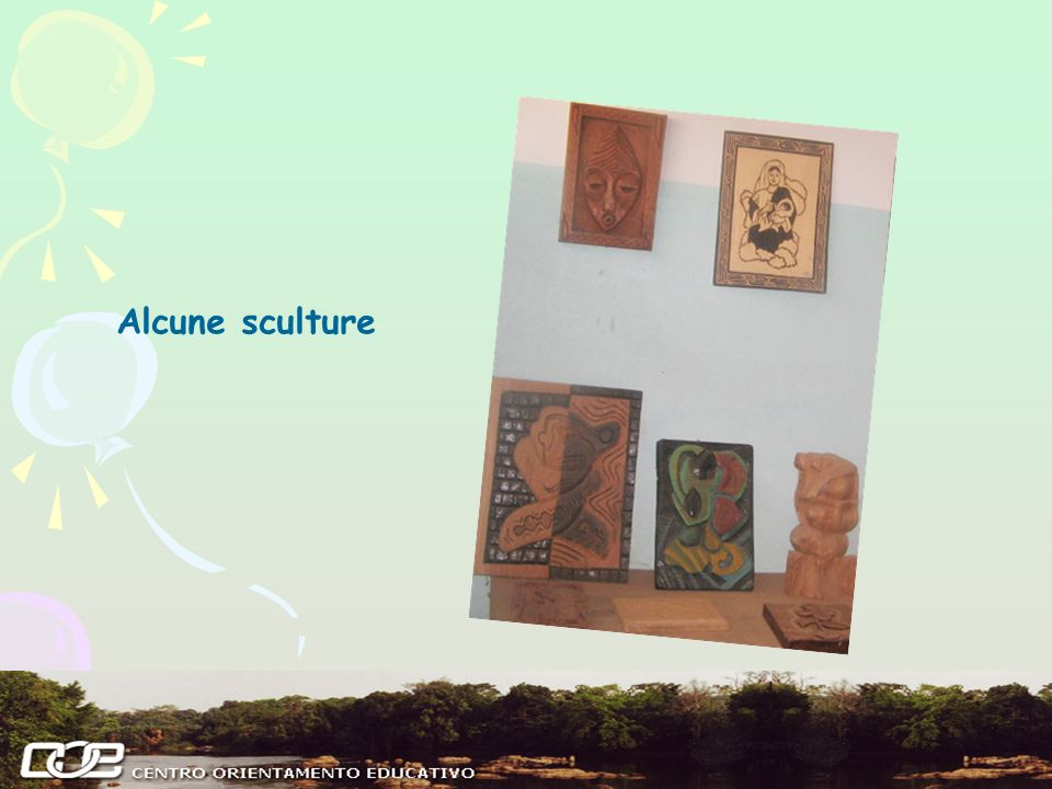 Alcune sculture