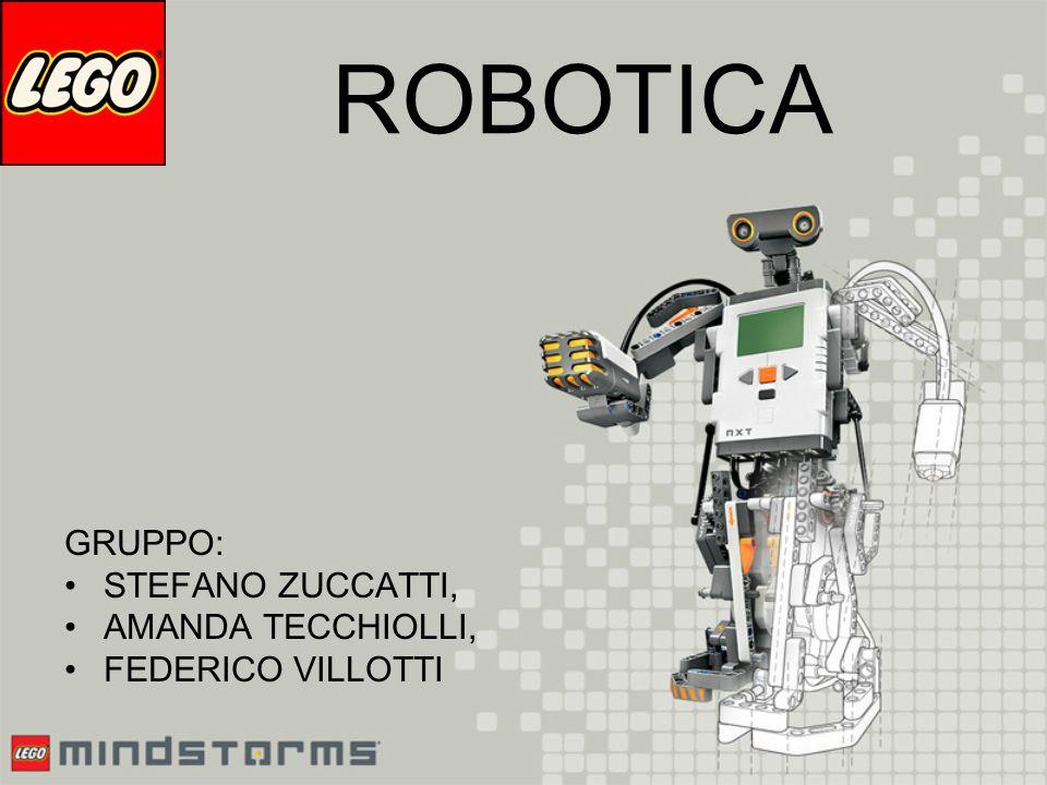 ROBOTICA GRUPPO: STEFANO ZUCCATTI, AMANDA TECCHIOLLI,