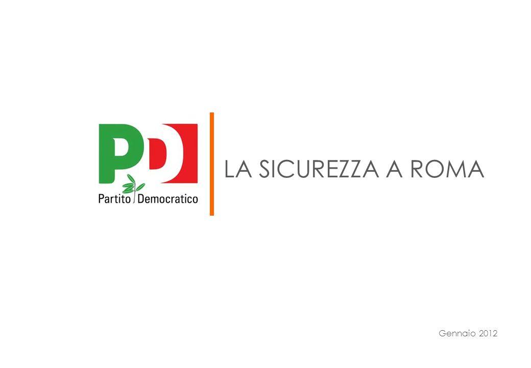 La sicurezza a roma Gennaio 2012
