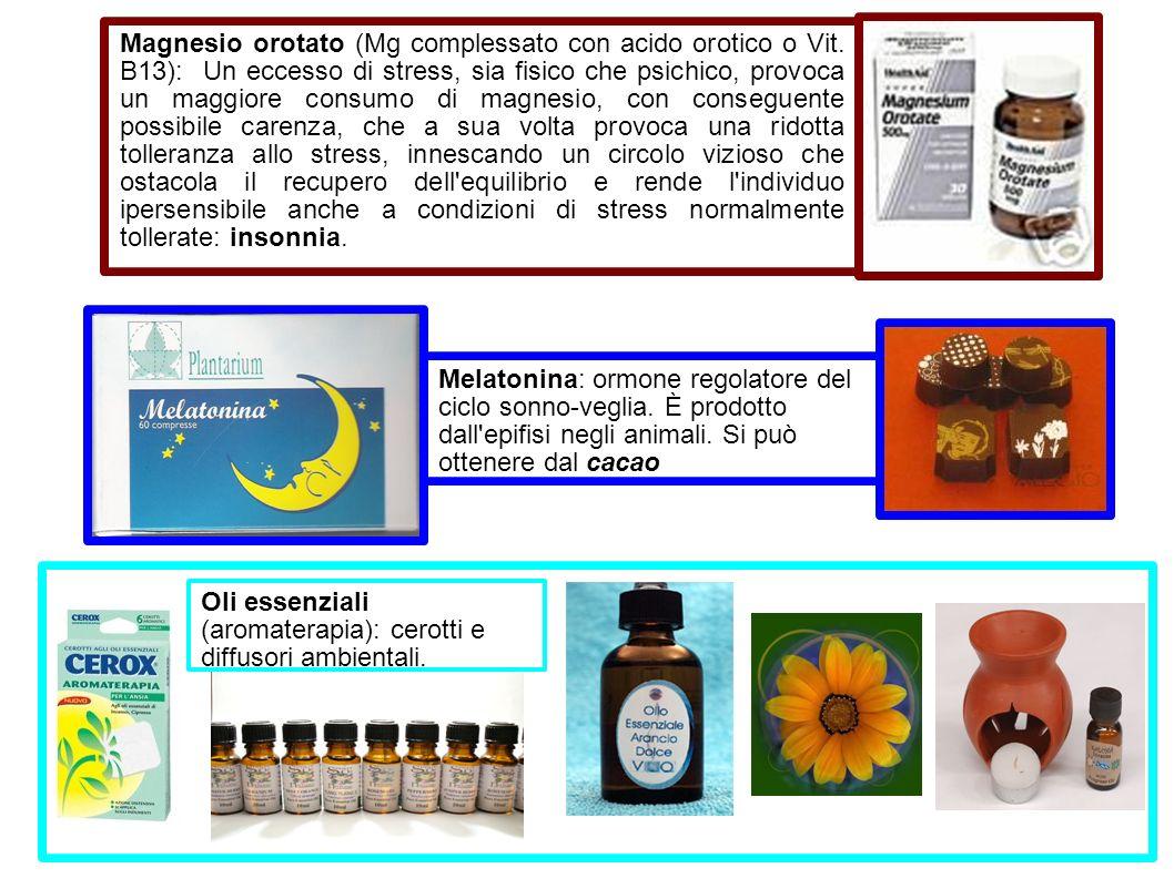 Magnesio orotato (Mg complessato con acido orotico o Vit