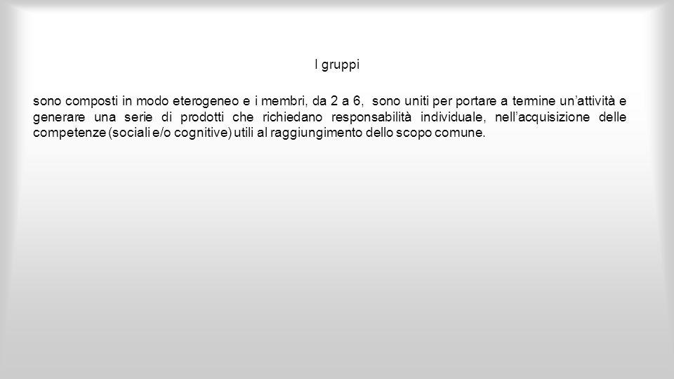 I gruppi