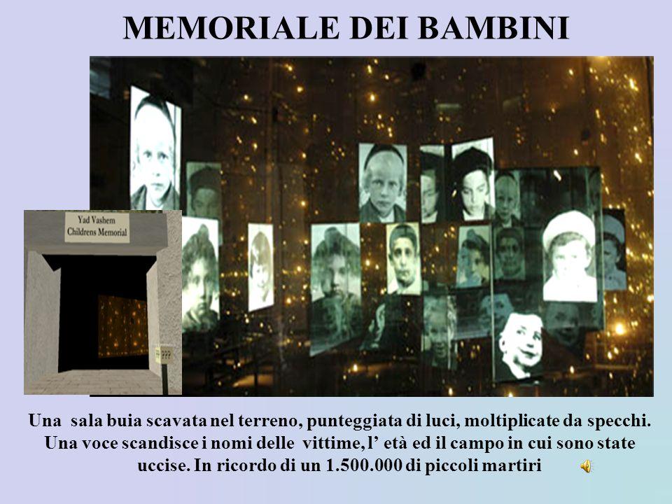 MEMORIALE DEI BAMBINI